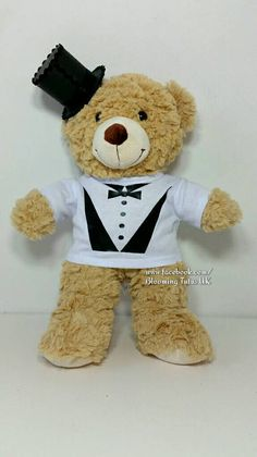 Hey, I found this really awesome Etsy listing at https://www.etsy.com/listing/505714771/page-boy-usher-16-teddy-in-a-tuxedo-top