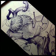 Sketchin snails @babydougiegrant