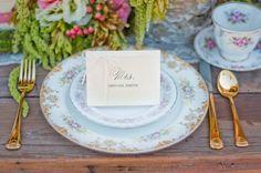 Fairy Tale Tangled Wedding Shoot escort card
