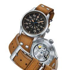 Vintage Eye for the Modern Guy: Stowa Flieger Klassik 40 Baumuster B Best Affordable Watches, Stowa, Casual Watches, Vintage Watches, Mens Fashion, Guys, Retro, Modern, Magazine