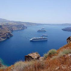 #greece #santorini #fira  Skaros Rock . . . #volcano  #skarosrock #view #views #fira...   #greece #santorini #fira  Skaros Rock . . . #volcano  #skarosrock #view #views #fira #caldera #cruise #cruisetravel #cruiseline #rccl #cruiseship #rhapsodyoftheseas #costacrociere #costadeliziosa #msccruises #mscmagnifica #travel #travelphotography #naturephotography Fira Greece, Santorini Greece, Msc Magnifica, Rhapsody Of The Seas, Nature Photography, Travel Photography, Msc Cruises, Cruise Travel, Volcano