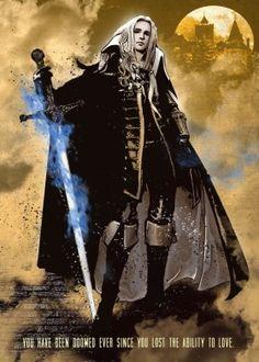 alucard castlevania vampire gaming