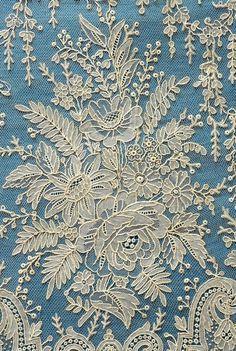 Smiry 2 Pcs Off-white Embroidery Floral Neckline Lace Collar Applique White Lace Trim DIY Craft - Embroidery Design Guide Needle Lace, Bobbin Lace, Lace Ribbon, Lace Fabric, Antique Lace, Vintage Lace, Victorian Lace, Unique Vintage, Vintage Textiles