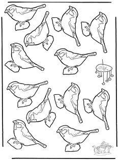 Najlepsze Obrazy Na Tablicy Ptaki Zimą 20 Leaded Glass Stained