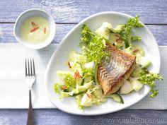 Frisée-Melonen-Salat - smarter - Kalorien: 292 Kcal | Zeit: 30 min.