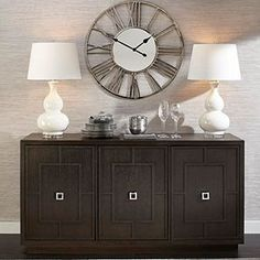 Bilquisse Wall Clock | Silver | Color Guide | Trends | Z Gallerie Grey Clocks, Glam Living Room, Teal And Grey, Dining Room Inspiration, Large Clock, Dining Room Walls, Walnut Finish, Adjustable Shelving, Silver Color