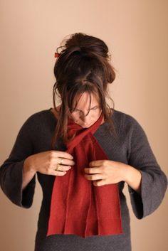 custom upcycled cashmere scarf @voladoradesign $40.00