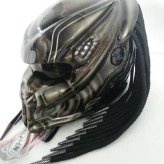 Love this Predator Helmets Street Fighter Dot Approved. You can custom your own predator helmet design  #predatorhelmets #predatormotorcyclehelmet #alienpredatorhelmet  Safe and easy payment system, delivery to any country