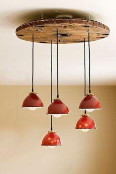 40+ Ιδέες-Κατασκευές από ξύλινα ΚΑΡΟΥΛΙΑ ΚΑΛΩΔΙΩΝ | ΣΟΥΛΟΥΠΩΣΕ ΤΟ