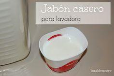 jabón casero para lavadora