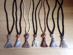 Sneak peak to Boho Beads new fall line, the pebble collection!