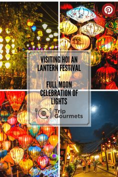 Read more about the wonderful Hoi An Lantern Festival in Vietnam. PS.: There is also a video :)