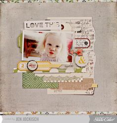 @Gail Mounier Calico September kit and add ons, Central High!