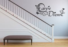 Wandtattoo - Carpe Diem Carpe Diem, Home Decor, Household, Ad Home, Homes, Nice Asses, Decoration Home, Room Decor, Home Interior Design