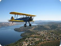 Take in a breath taking view of Napa Valley with a scenic biplane ride.