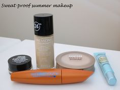 Sweat-proof summer makeup