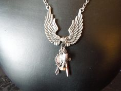 The Mortal Instruments Inspired Charm by klockwerkkreations, $38.00