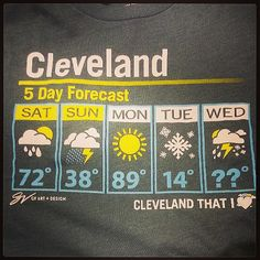 I have this tee shirt and every time I wear it, I get dozens of comments!  You gotta live here to fully understand...