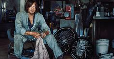 When he's not fighting the zombie apocalypse, chances are Norman Reedus is on his motorcycle. With a new show on AMC, his love of bikes takes center stage.