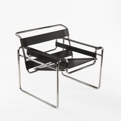Mid-Century Modern Reproduction Wasilly B3 Chair Inspired by Marcel Breuer