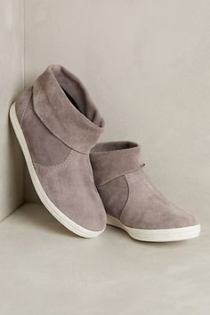 These are cute & comfy lookin'. All Black Casual Booties #anthropologist