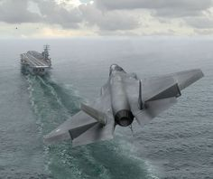 stealth fighter - 21 sentury plane, Cool, do, free, Landing, military, On Ship, Picture