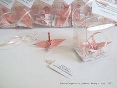 lembrancinha de casamento - Sakura Origami & Acessórios