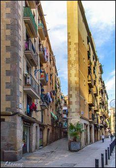 Carrer del Triangle-Carrer del Rec Sant Pere - Santa Caterina i la Ribera, Barcelona, Catalonia