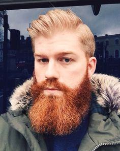 55 Inspiring Ginger Beard Ideas That Look Cool # Beard Styles For Men, Hair And Beard Styles, Long Hair Styles, Red Beard, Beard Love, Ginger Men, Ginger Beard, Great Beards, Awesome Beards