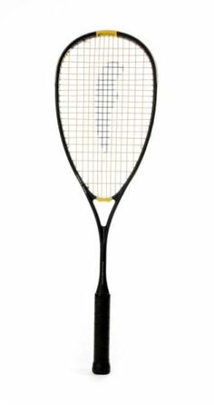 """Feather Cyclone 2145 Squash Racket by Feather. $170.00. Known as """"unbeatable"""" in power, quality and value. The 2008 upgrade to the popular 2002 Cyclone is a nano carbon hybrid providing extra power and control. """"This racquet has the power of a cyclone and is my favorite,"""" says Stefan Casteleyn (12 time Belgian National Champion, 2-time USSRA Professional Champion and PSA #7 highest ranking)."""