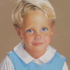 """I """"painted"""" this portrait in pastel in 1998.  It launched my career to a national level!!"""