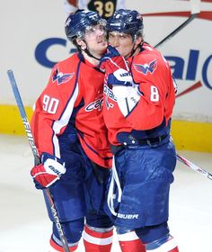 Props to Jojo for taking that hit to set up Ovi's goal!