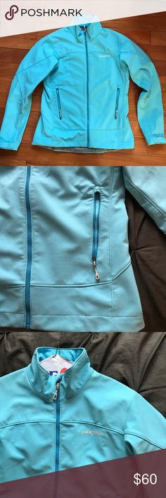 Patagonia Spring Ski Jacket:  softshell A low bulk, waterproof, breathable shell jacket.  Great for Spring skiing or outdoor activities.  It is lightly lined and good for layering. Patagonia Jackets & Coats Puffers