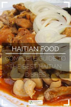 A Haitian food guide with all the best Haitian dishes from griyo pikliz tassot and seafood to stews rice dishes sweets and treats and rum-infused power shakes. Everything you need to know to explore Haitian cuisine. Haitian Fish Recipe, Haitian Food Recipes, Cuban Recipes, Donut Recipes, Hatian Food, Louisiana Recipes, Best Street Food, Island Food, Caribbean Recipes