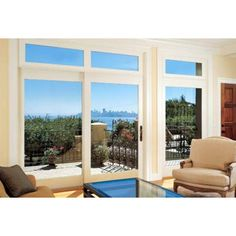 Photo from the Marvin Windows and Doors gallery I think this style might be to plain -- a little boring? I think I need panes/moullions Sliding French Doors, Sliding Patio Doors, Sliding Glass Door, Glass Doors, Entry Doors, Sliding Windows, French Patio, French Doors Patio, Marvin Doors