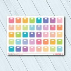 Scale Planner Stickers - Icon - Erin Condren Life Planner - Happy Planner - Weight Loss - Fitness - Fit - Health - Matte or Glossy