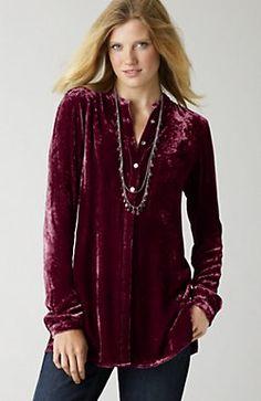 Velvet tunic - J Jill