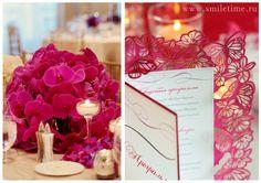 оформление свадьбы в розовом цвете #wedding #pink #invitation #приглашения #свадьба #розовый