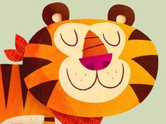 Another cereal mascot. You can see the full version here: http://www.illustrationaday.com/2011/10/tony-tiger.html