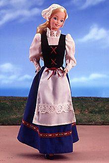 <em>Swedish</em> Barbie® Doll