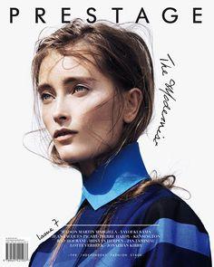Iekeliene Stange (Select London) by Pablo Delfos for Prestage Magazine
