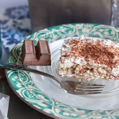 Tiramisu that tastes so gourmet, you won't believe how it's made. It's rich and creamy, with just the right edge of coffee, cinnamon, and chocolate. Will keep in the fridge for days, so it's perfect to make ahead! And at only 139 calories per slice, it's pretty hard to pass up...