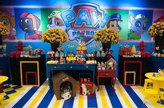 Ideias para festa Patrulha Canina/ Paw Patrol – Inspire sua Festa ®