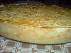 Receita de Torta de batata com requeijão - Tudo Gostoso Food Cakes, Health And Fitness Articles, Health Fitness, Quiche, Carne, Cake Recipes, Vegetarian Recipes, Food And Drink, Pudding