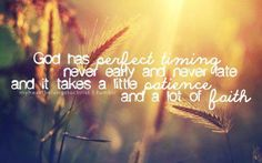 Patience is the hard part. Wait Upon The Lord, I Trusted You, God Loves You, Like You, Perfect Timing, Gods Timing, Patience, How To Plan, Christian Life