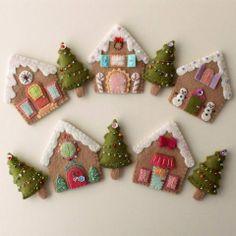xmas houses