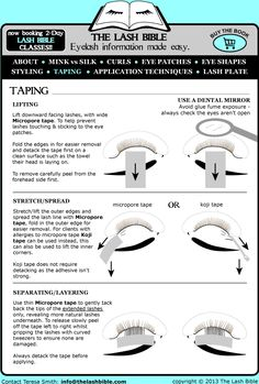 lash bible - Google Search