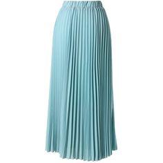 Chicwish Chiffon Seafoam Pleated Maxi Skirt (175 MYR) ❤ liked on Polyvore featuring skirts, bottoms, saias, maxi skirts, green, pleated skirt, accordion pleated maxi skirt, long pleated skirt, blue chiffon maxi skirt and long pleated chiffon skirt