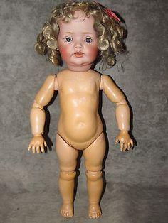 16-034-J-D-Kestner-239-Character-Toddler-Blue-Sleep-Eyes-Rare-Hilda-Family-Model