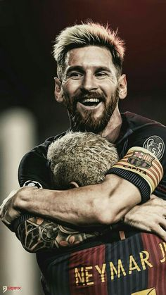 The two great players of football 👑🔱 (Messi and Neymar) Messi Y Neymar, Messi Soccer, Messi 10, Football Soccer, Messi Pictures, Messi Photos, Lionel Messi Barcelona, Barcelona Football, Football Players Images